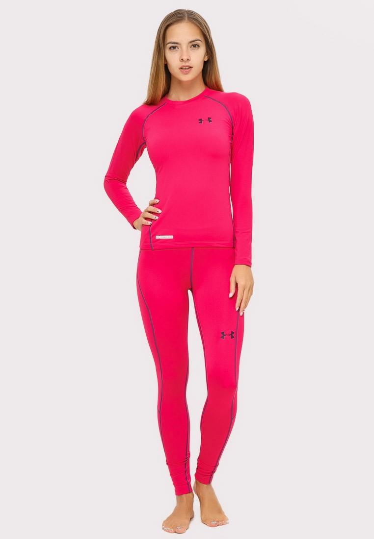 Купить оптом Термобелье женское розового цвета 8010R в Казани