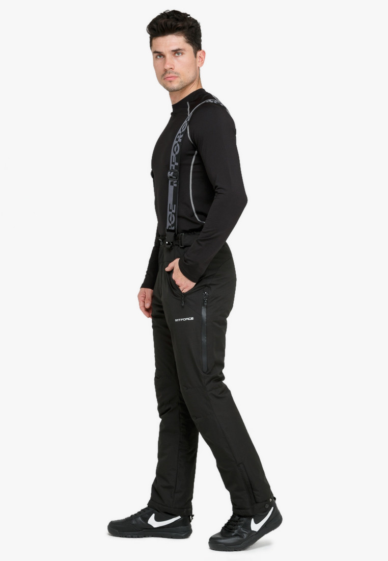 Купить оптом Костюм горнолыжный мужской голубого цвета 018122Gl