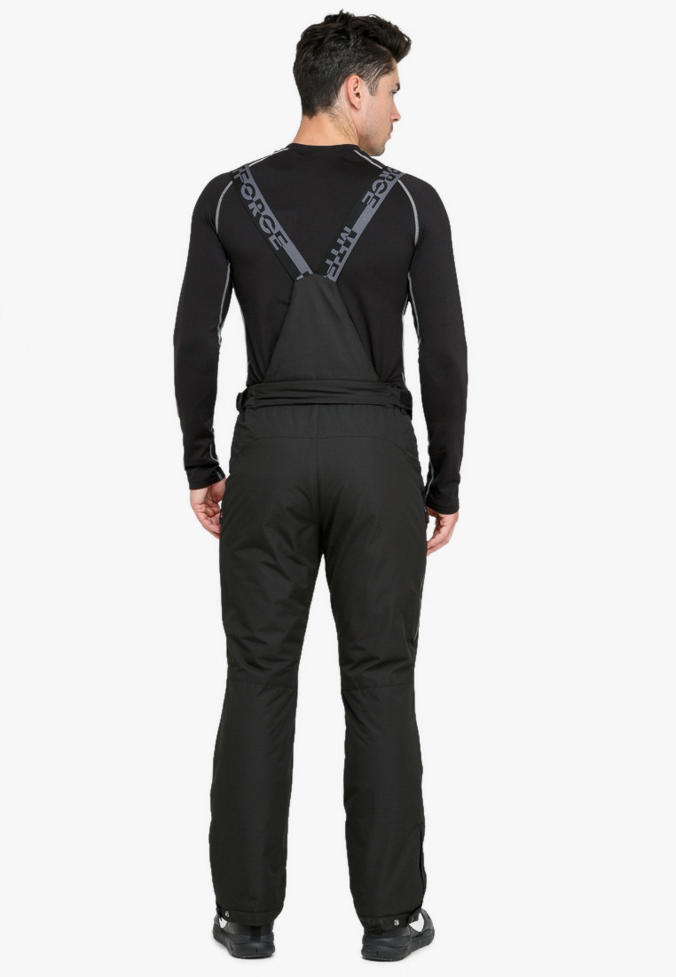 Купить оптом Костюм горнолыжный мужской темно-синего цвета 018108TS в Екатеринбурге