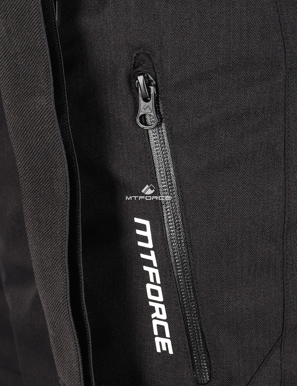 Купить оптом Брюки горнолыжные мужские черного цвета 809Ch в Омске