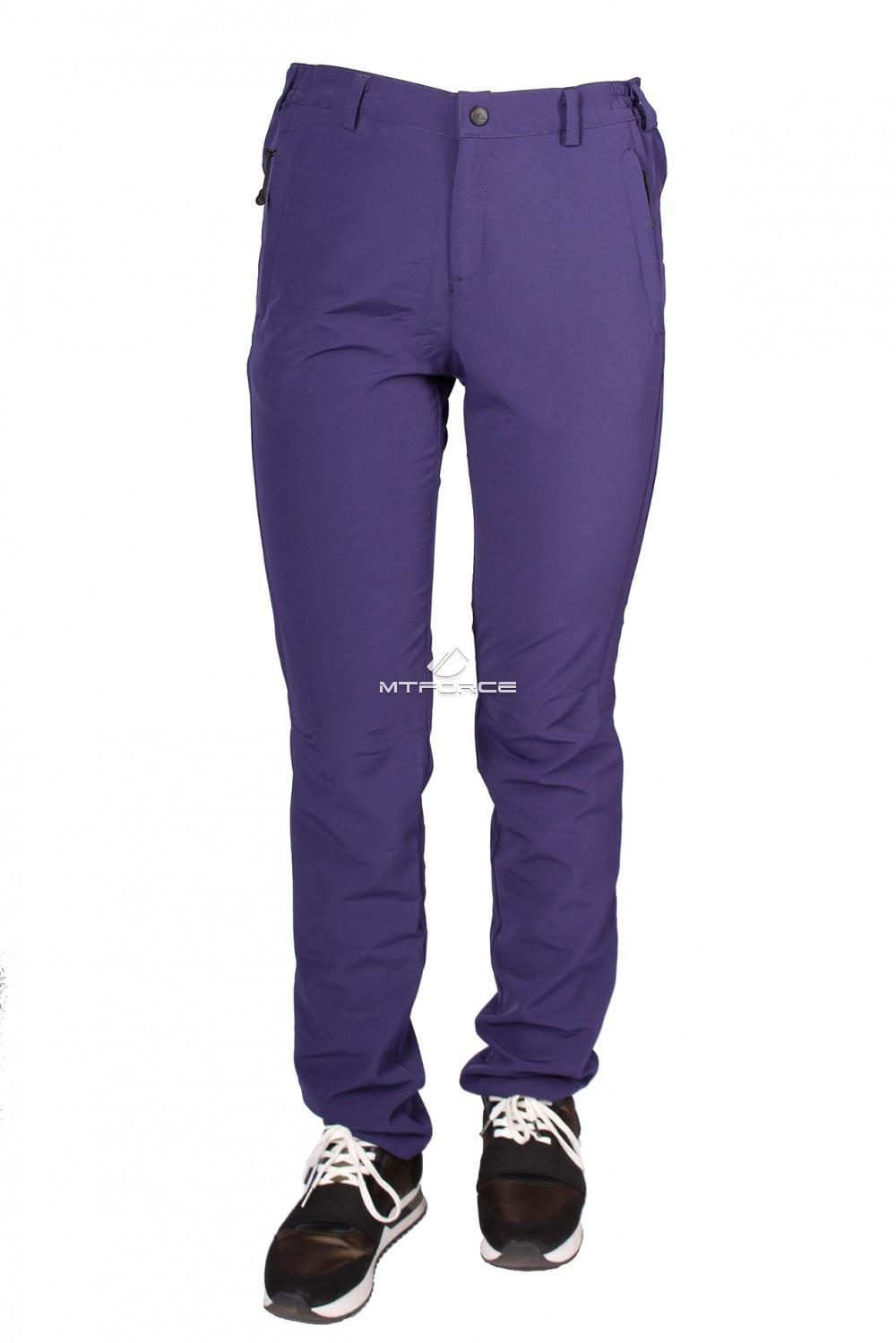 Купить  оптом Брюки женские тонкие летние фиолетового цвета 812F