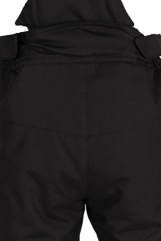 Купить оптом Брюки горнолыжные подростковые для мальчика черного цвета 817Ch в Ростове-на-Дону