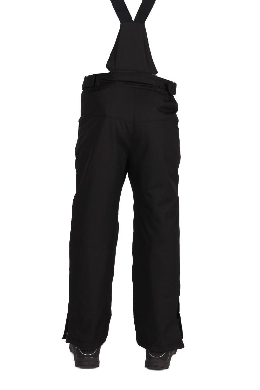 Купить оптом Брюки горнолыжные подростковые для мальчика черного цвета 817Ch в Перми