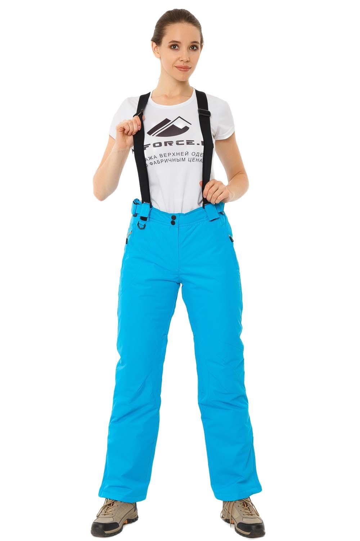 Купить                                      оптом Брюки горнолыжные женские синего цвета 818S в Ростове-на-Дону