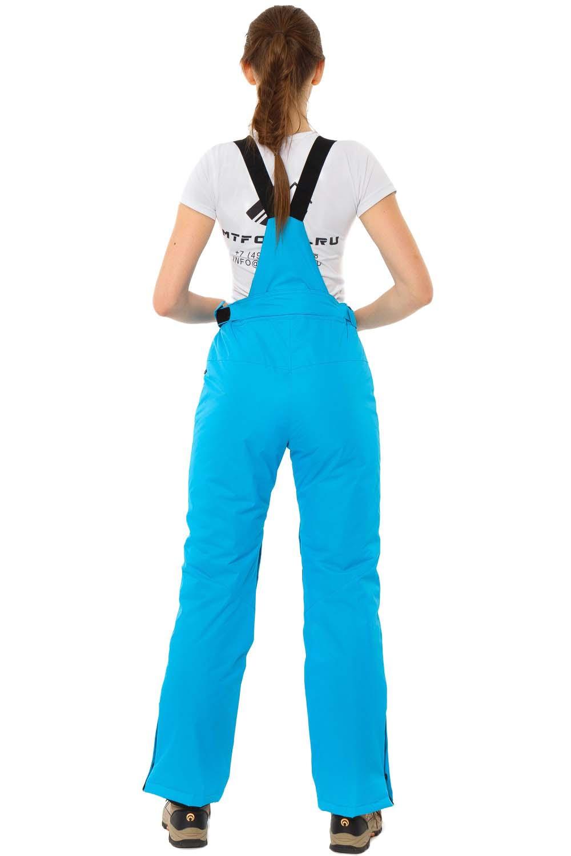 Купить оптом Брюки горнолыжные женские синего цвета 818S в Сочи