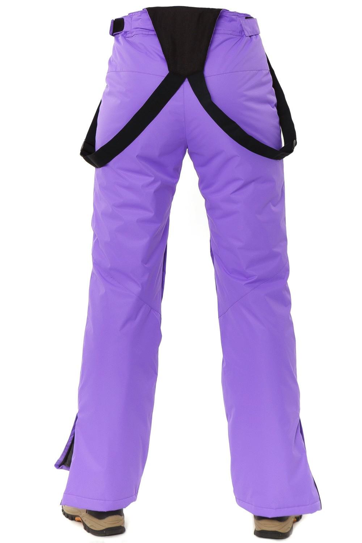 Купить оптом Костюм горнолыжный женский фиолетового цвета 01787F