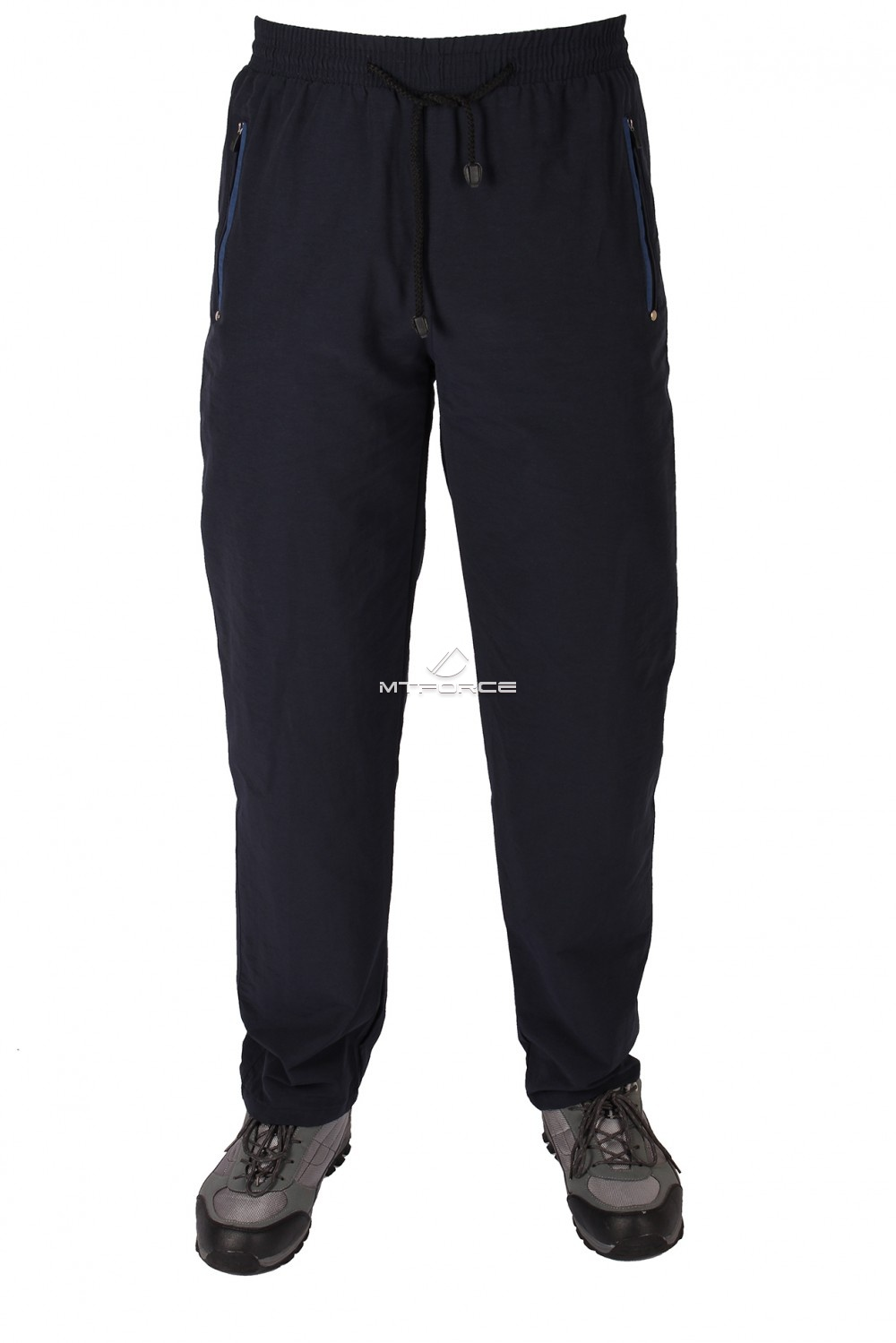 Купить                                  оптом Брюки мужские плащевые темно-синего цвета 8210TS