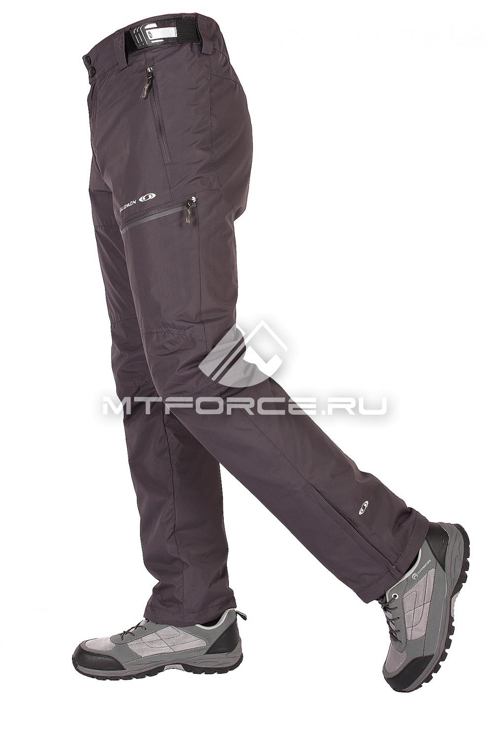 Купить                                  оптом Брюки спортивные мужские серого цвета 8507Sr