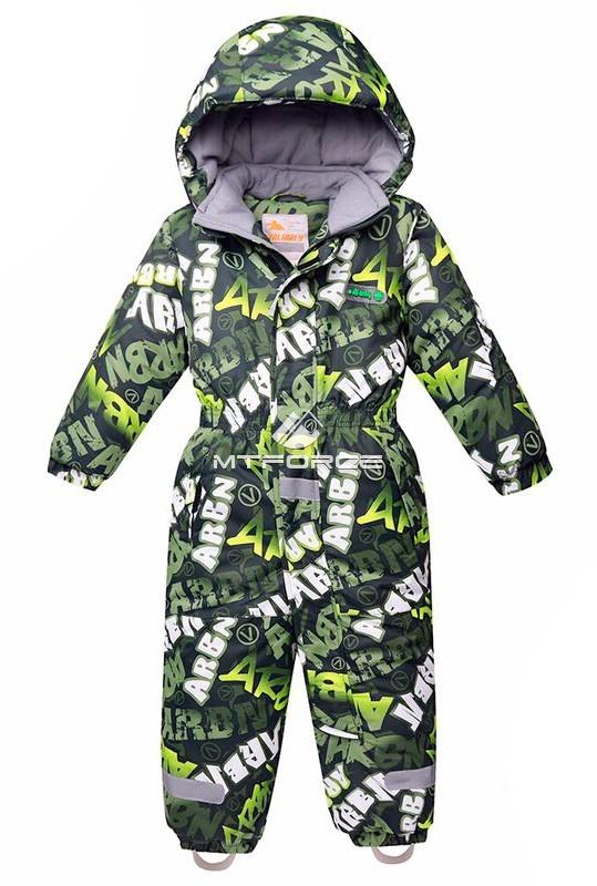 Купить                                      оптом Комбинезон горнолыжный детский цвета хаки 8705Kh в Санкт-Петербурге