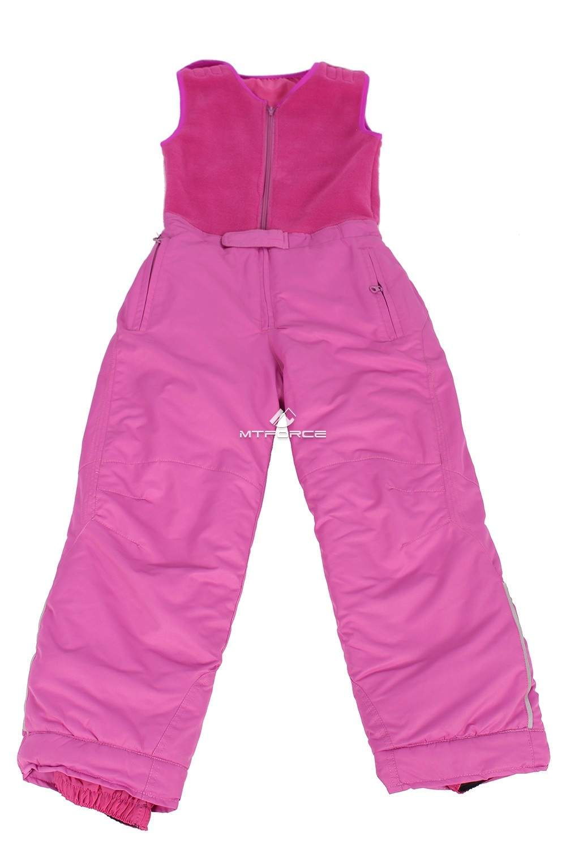Купить оптом Брюки горнолыжные подростковые для девочки розового цвета 8736R в Уфе