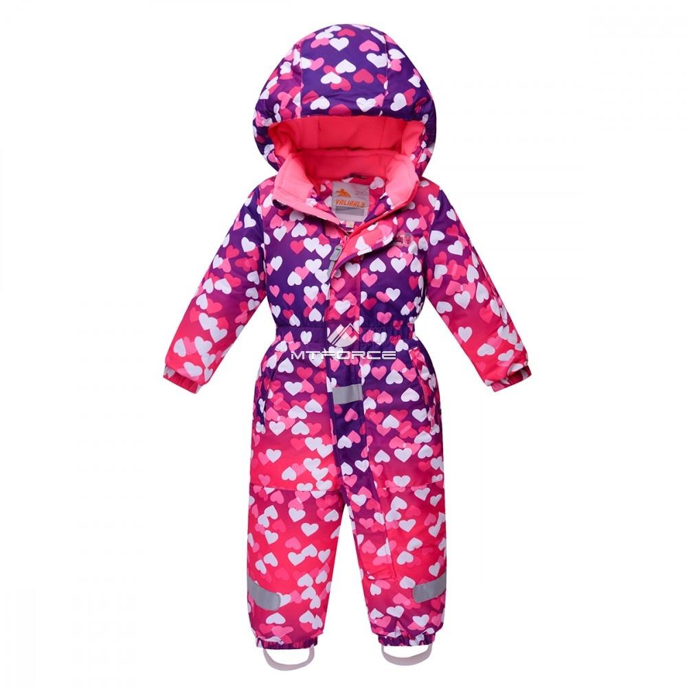 Купить оптом Комбинезон детский розовый 8804R в Нижнем Новгороде