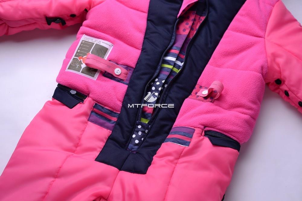 Купить оптом Комбинезон подростковый для девочки темно-серый 8806TC в Новосибирске