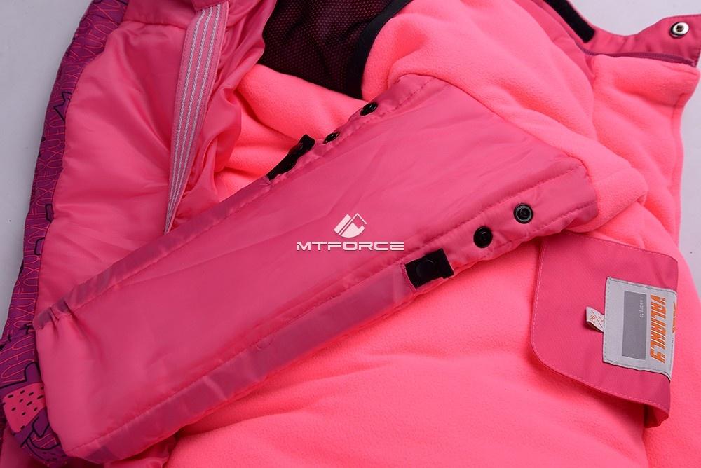 Купить оптом Горнолыжный костюм детский розовый 8812R в Самаре