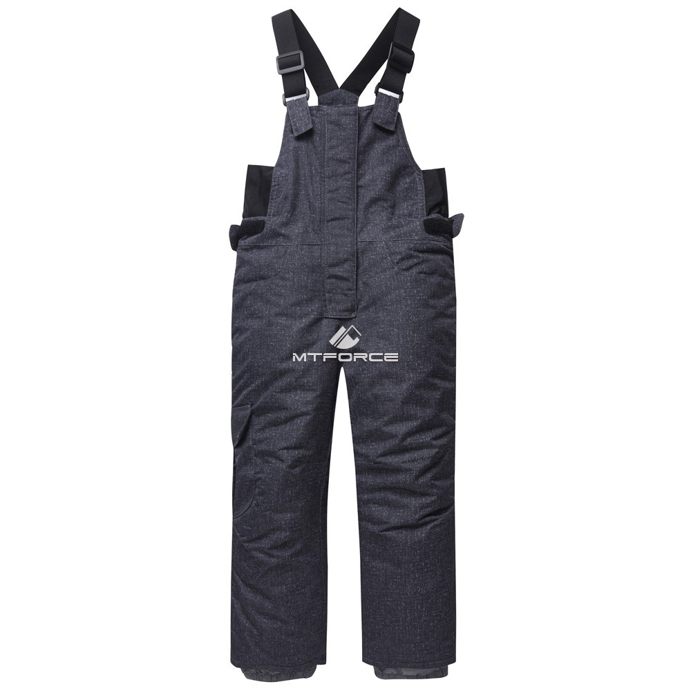Купить оптом Горнолыжный костюм детский темно-серый 8813TC в Самаре