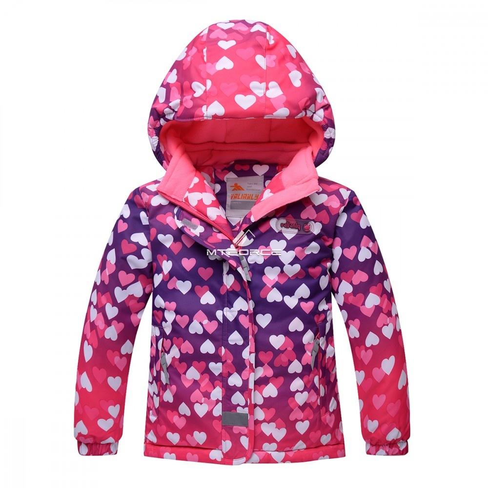 Купить оптом Горнолыжный костюм подростковый для девочки розовый 8814R