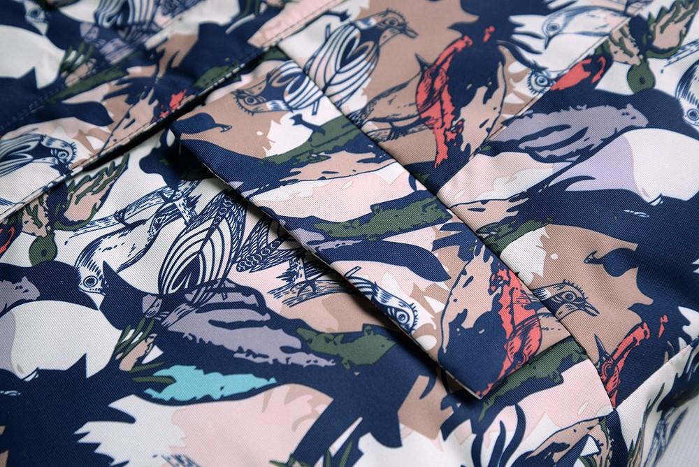 Купить оптом Горнолыжный костюм подростковый для девочки темно-синий 8818TS в Перми