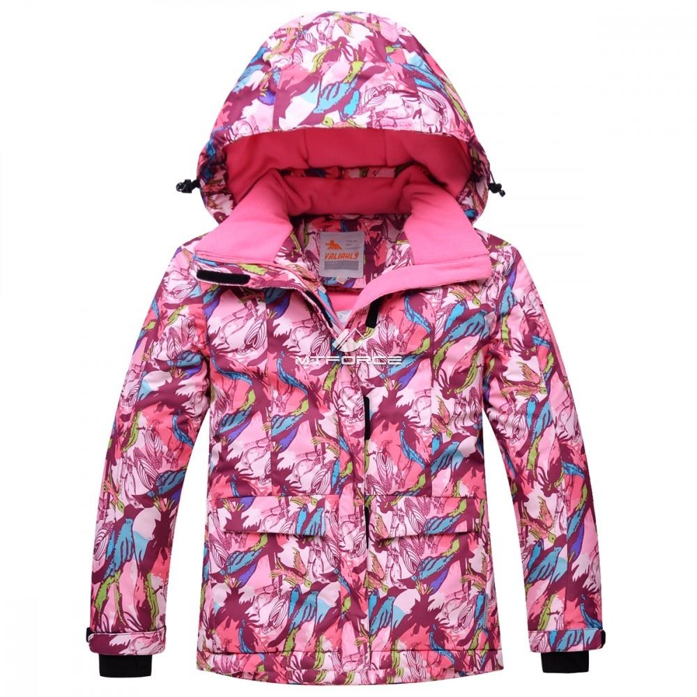 Купить оптом Горнолыжный костюм подростковый для девочки розовый 8818R в Санкт-Петербурге