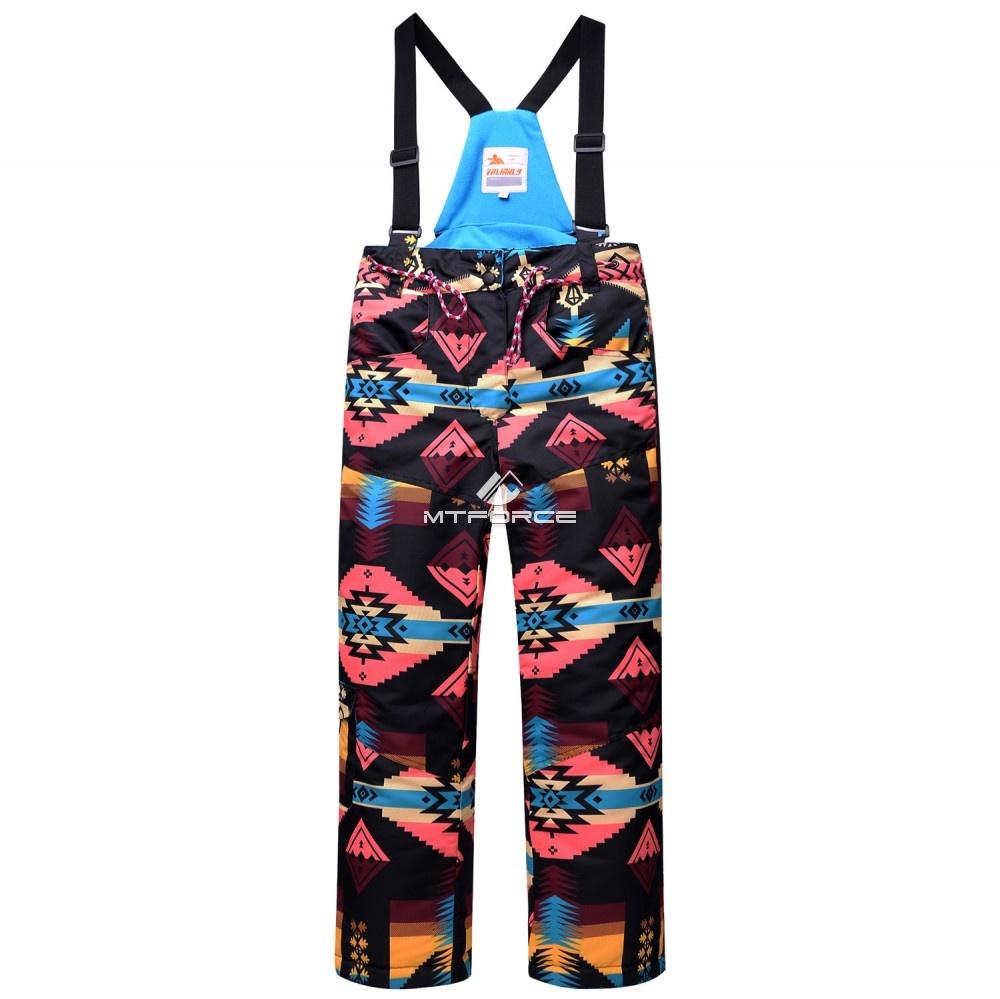 Купить оптом Горнолыжный костюм подростковый для девочки черный 8820Ch в Самаре