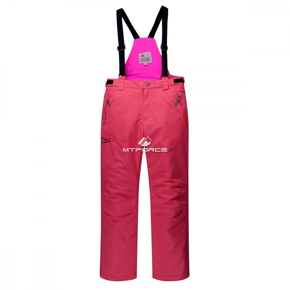 Купить оптом Горнолыжный костюм подростковый для девочки розовый 8830R в Сочи