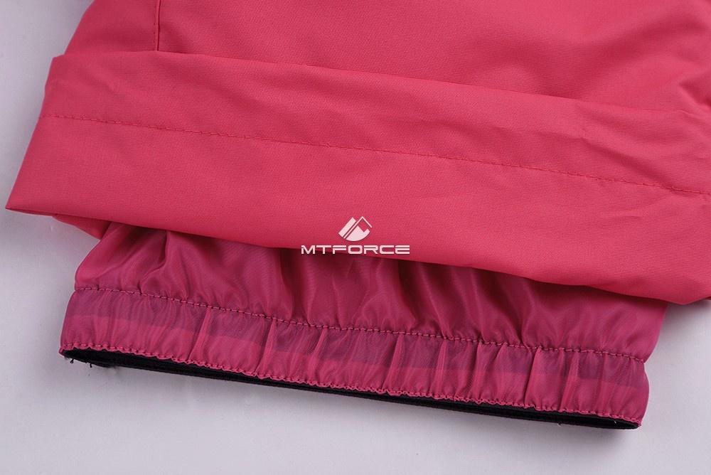 Купить оптом Горнолыжный костюм подростковый для девочки розовый 8830R в  Красноярске