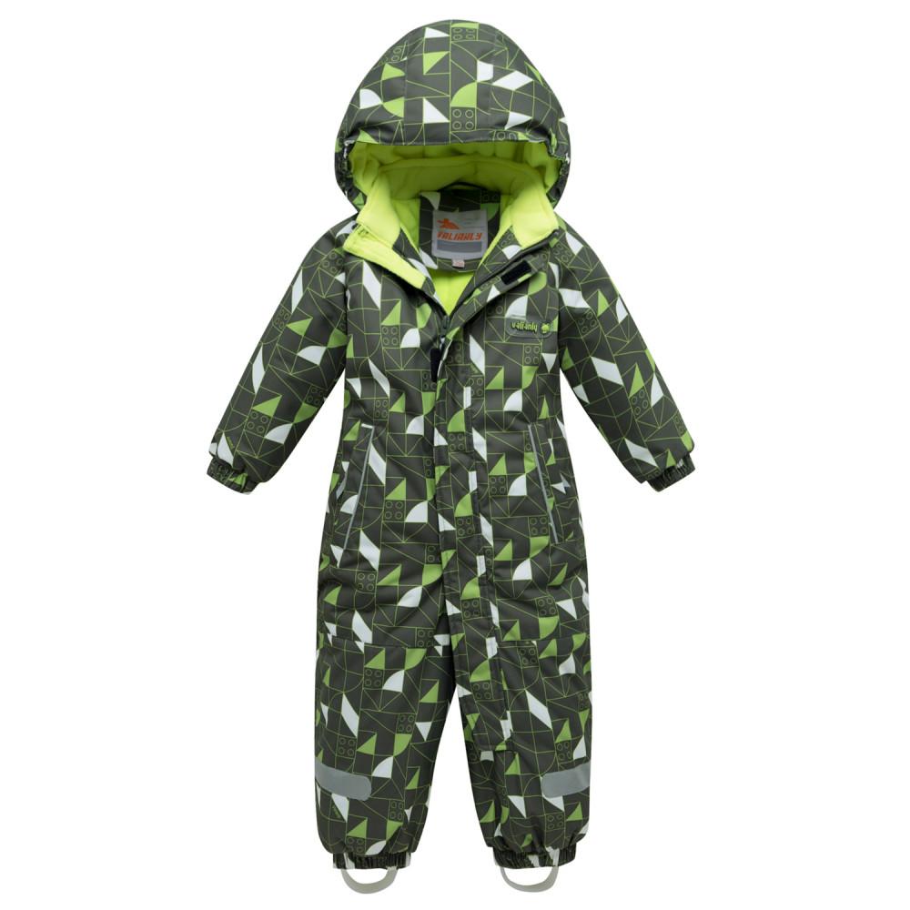 Купить оптом Комбинезон детский цвета хаки 8901Kh в  Красноярске
