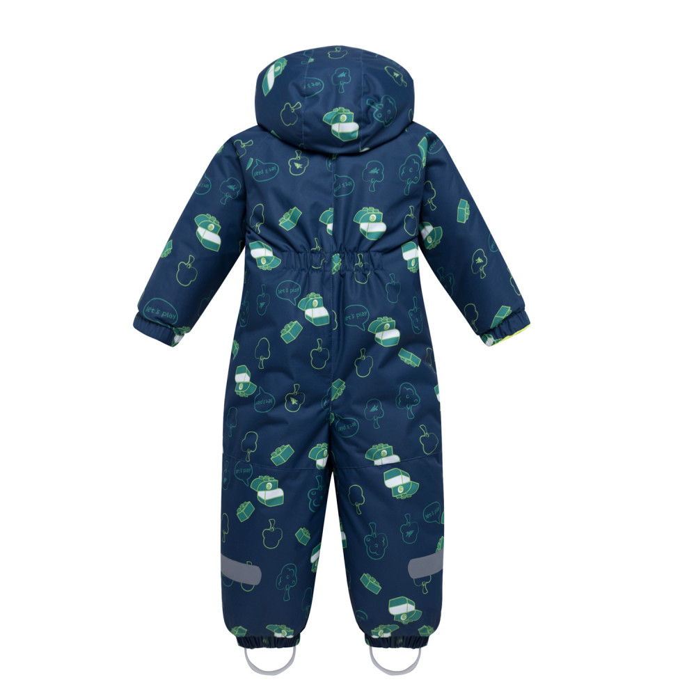 Купить оптом Комбинезон детский темно-серого цвета 8903TС в Екатеринбурге