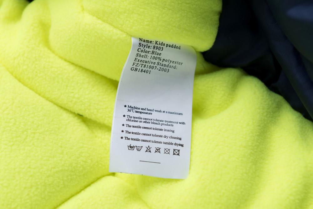 Купить оптом Комбинезон детский темно-серого цвета 8903TС в  Красноярске