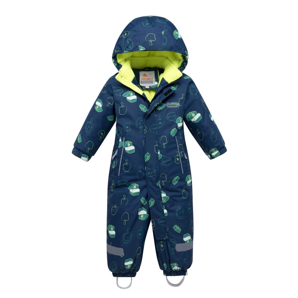 Купить оптом Комбинезон детский темно-синего цвета 8903TS