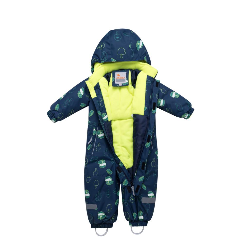 Купить оптом Комбинезон детский темно-серого цвета 8903TС в Сочи