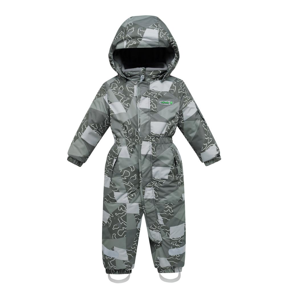 Купить оптом Комбинезон детский цвета хаки 8909Kh в Перми