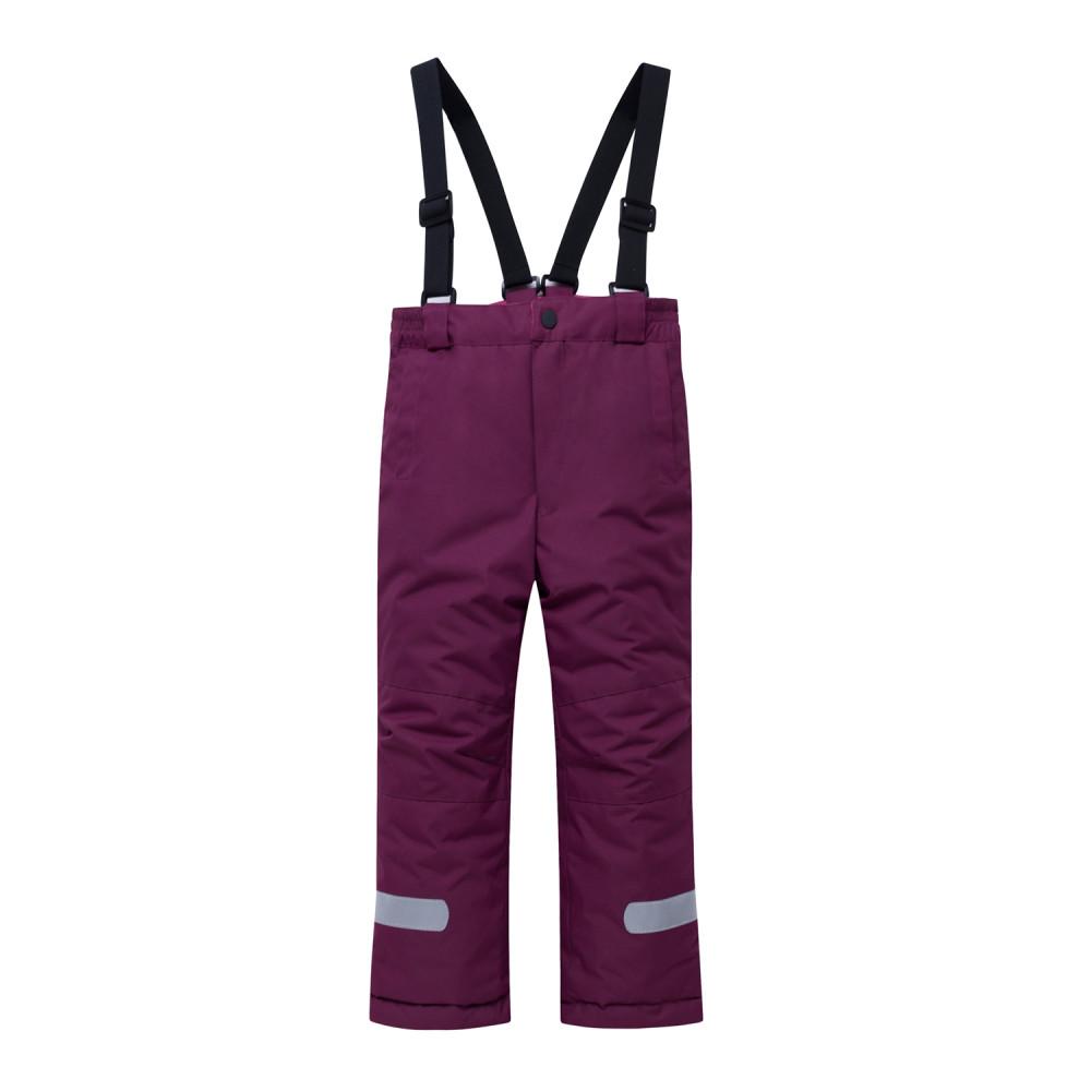 Купить оптом Горнолыжный костюм детский малинового цвета 8914M в Волгоградке