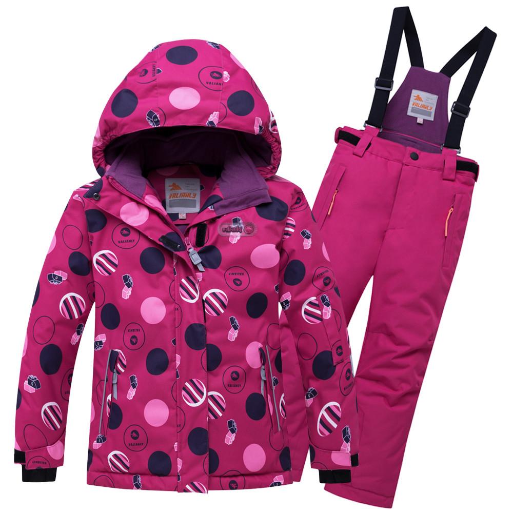 Купить оптом Горнолыжный костюм подростковый для девочки малинового цвета 8916M в Нижнем Новгороде
