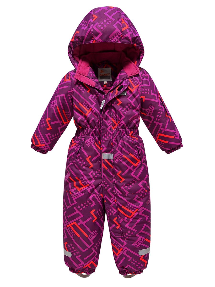 Купить оптом Комбинезон Valianly детский фиолетового цвета 9026F