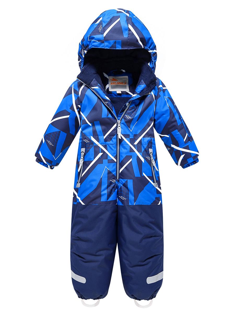 Купить оптом Комбинезон Valianly детский синего цвета 9027S