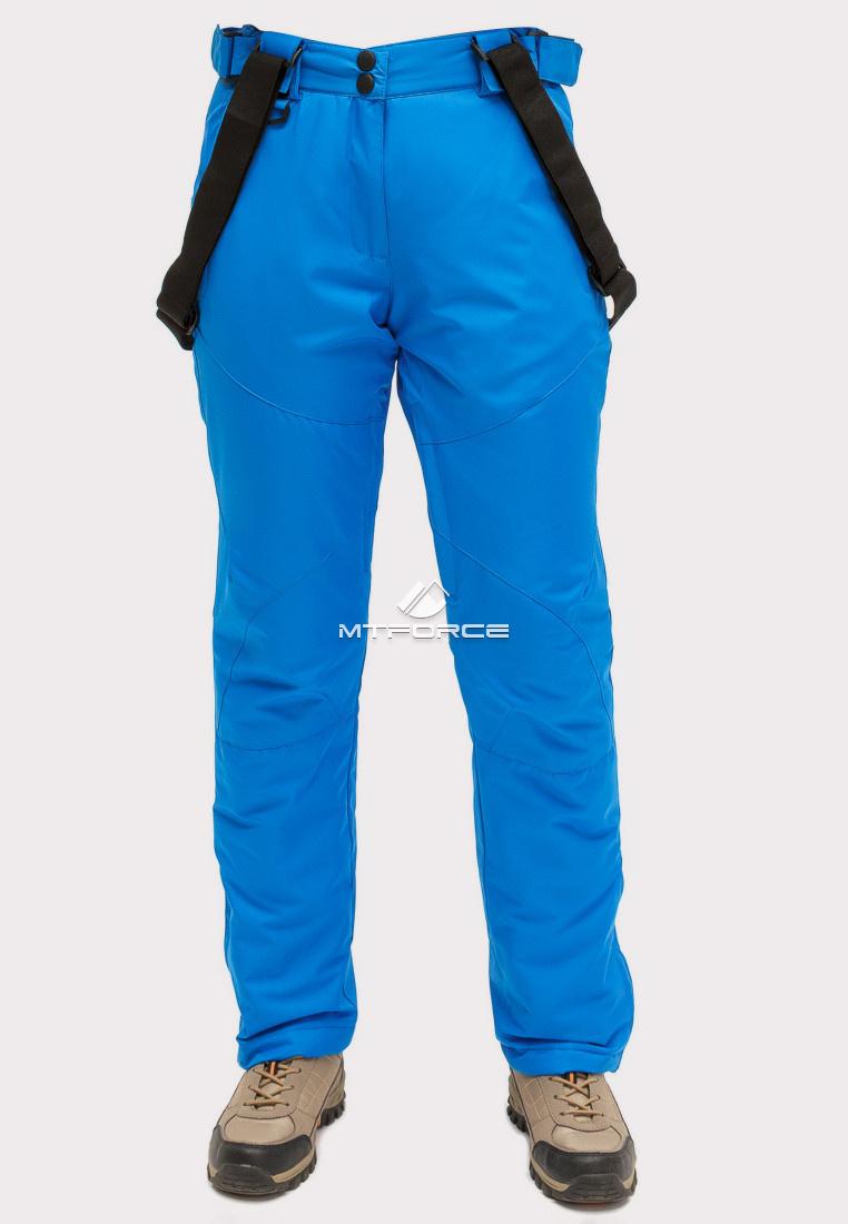 Купить оптом Брюки горнолыжные женские синего цвета 905S в Сочи