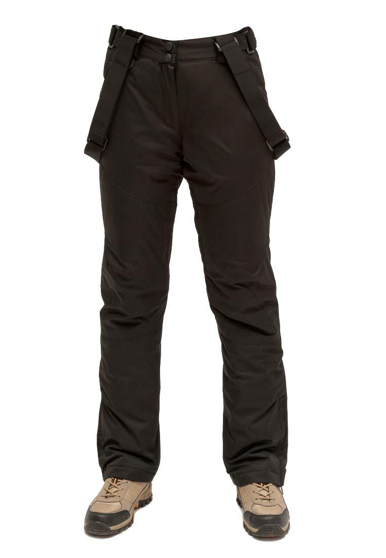 Купить оптом Брюки горнолыжные женские черного цвета 905Ch