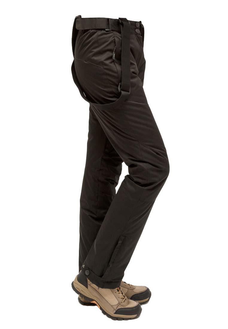 Купить оптом Брюки горнолыжные женские черного цвета 905Ch в Екатеринбурге