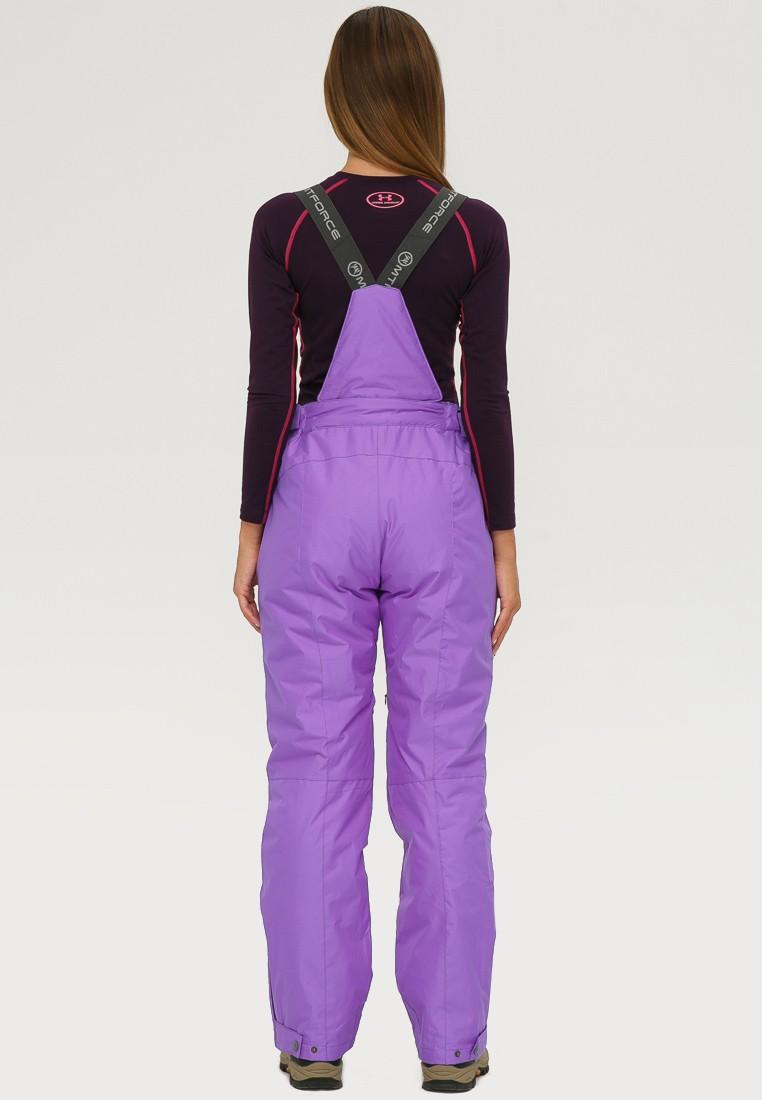 Купить оптом Брюки горнолыжные женские фиолетового цвета 906F в Перми