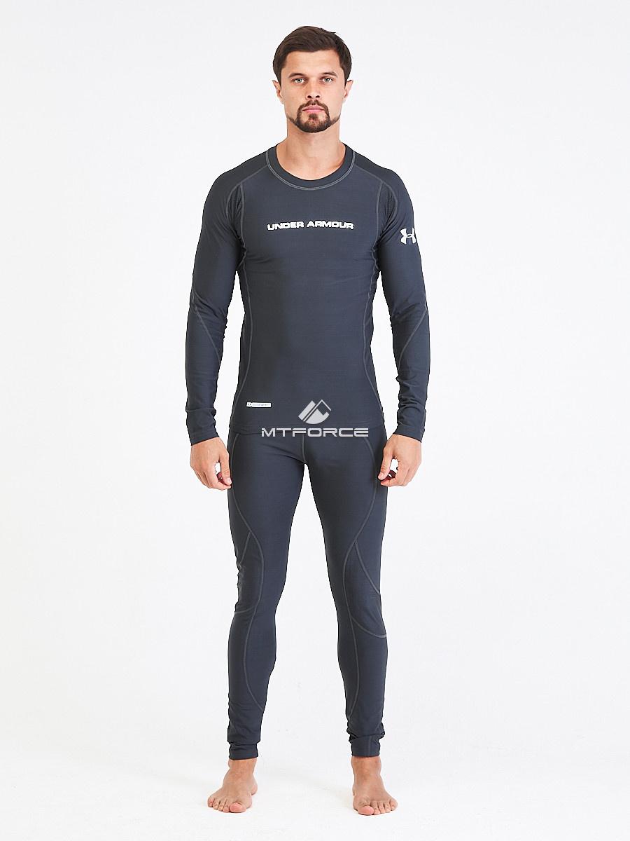 Купить оптом Термобелье мужское темно-серого цвета 9178TC в Казани