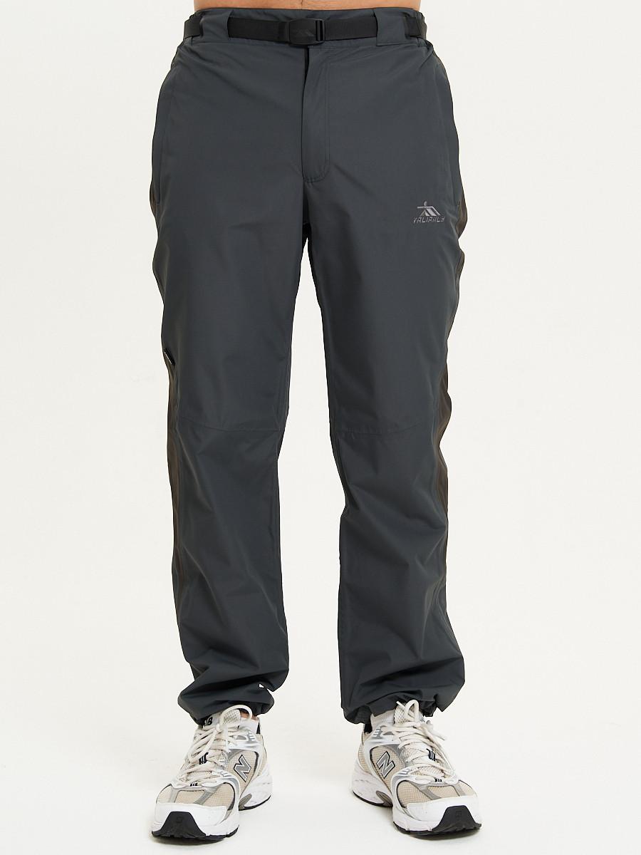 Купить оптом Спортивные брюки Valianly мужские темно-синего цвета 93230TS в Екатеринбурге