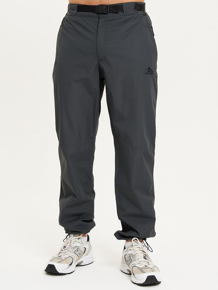 Купить оптом Спортивные брюки Valianly мужские темно-синего цвета 93231TS в Екатеринбурге