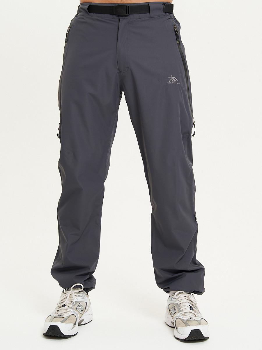 Купить оптом Спортивные брюки Valianly мужские темно-синего цвета 93232TS