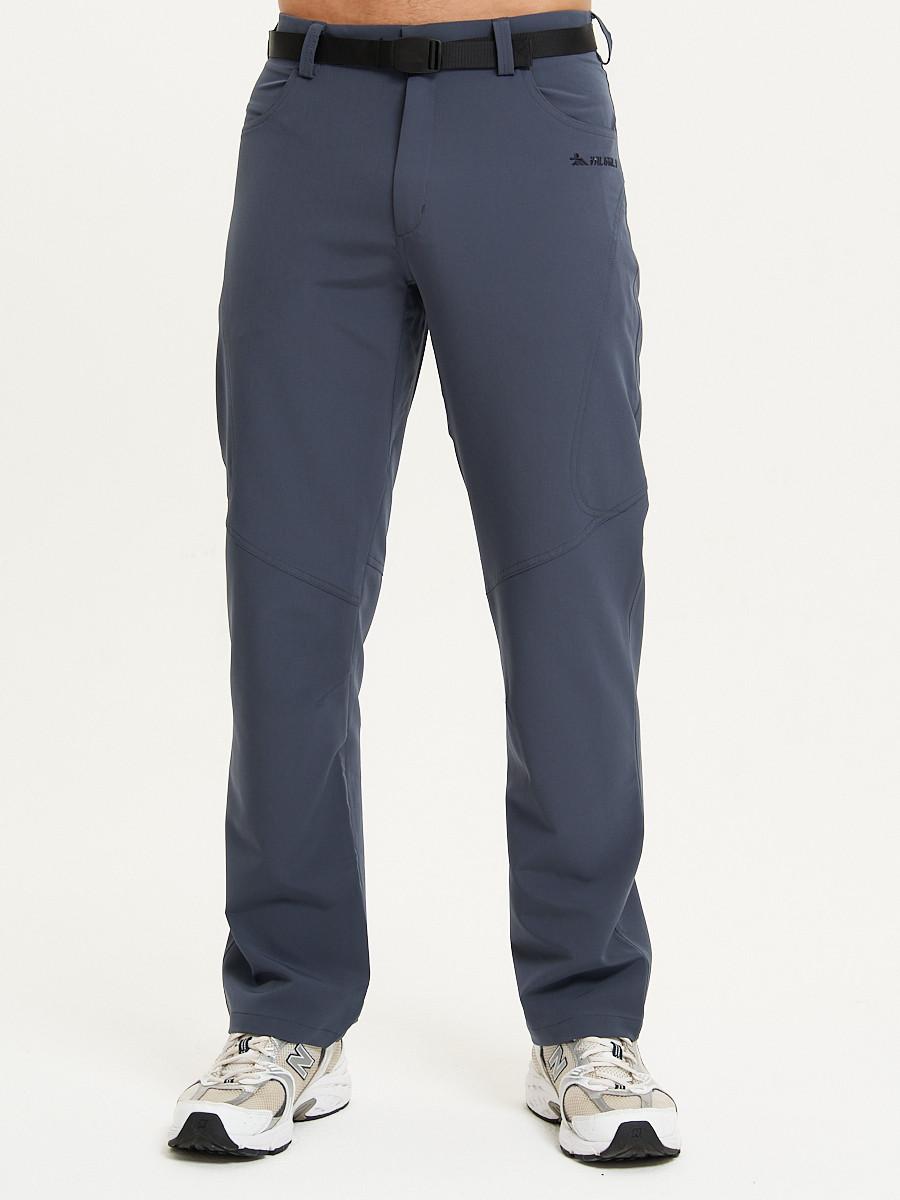 Купить оптом Спортивные брюки Valianly мужские темно-синего цвета 93434TS в Казани