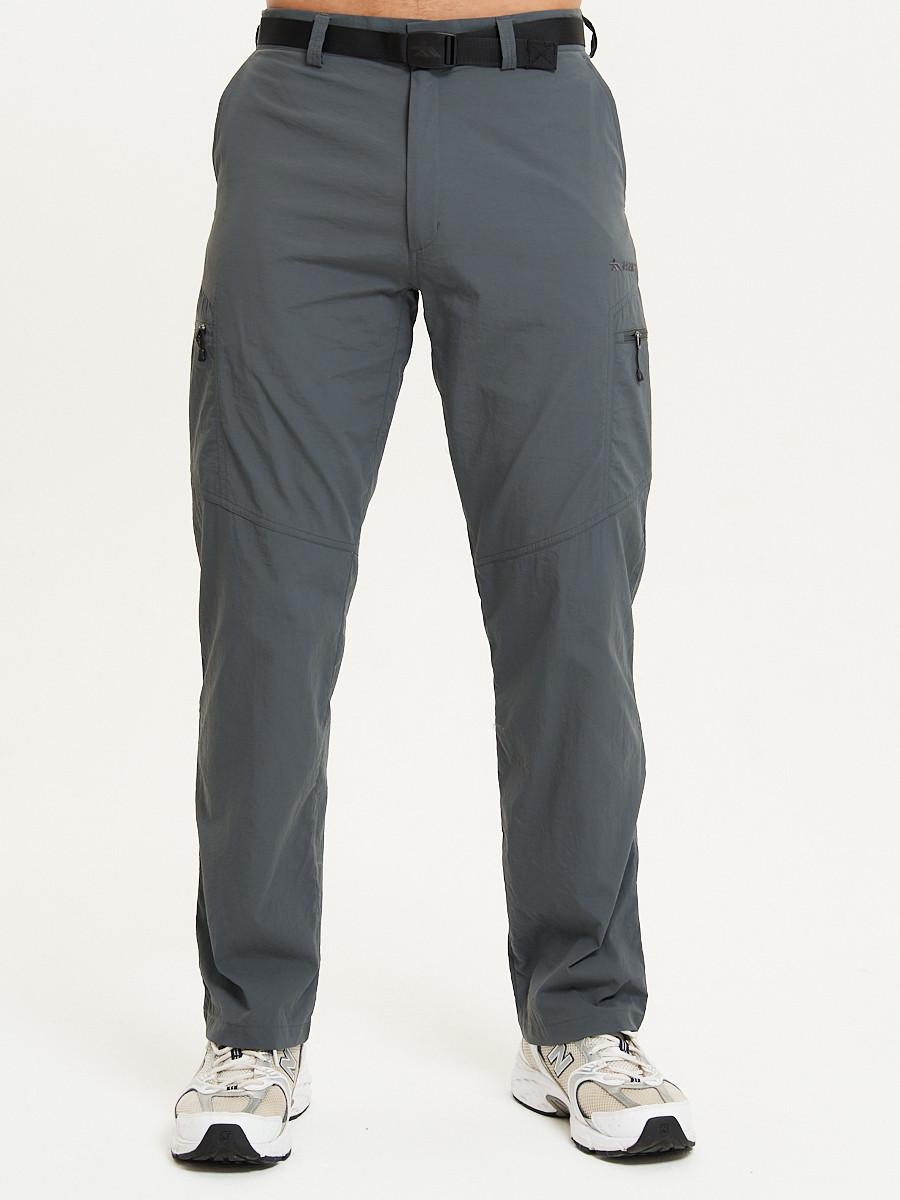 Купить оптом Спортивные брюки Valianly мужские темно-синего цвета 93435TS в Казани