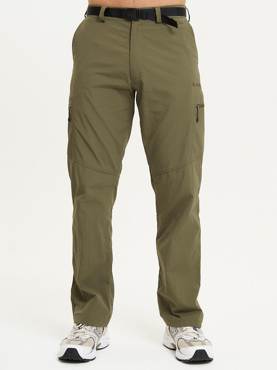 Купить оптом Спортивные брюки Valianly мужские хаки цвета 93435Kh в Екатеринбурге