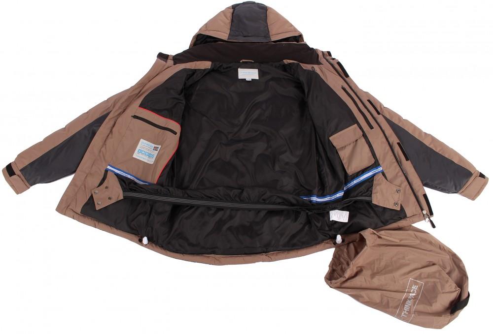 Купить оптом Куртка зимняя мужская черного цвета 9421Ch в Перми