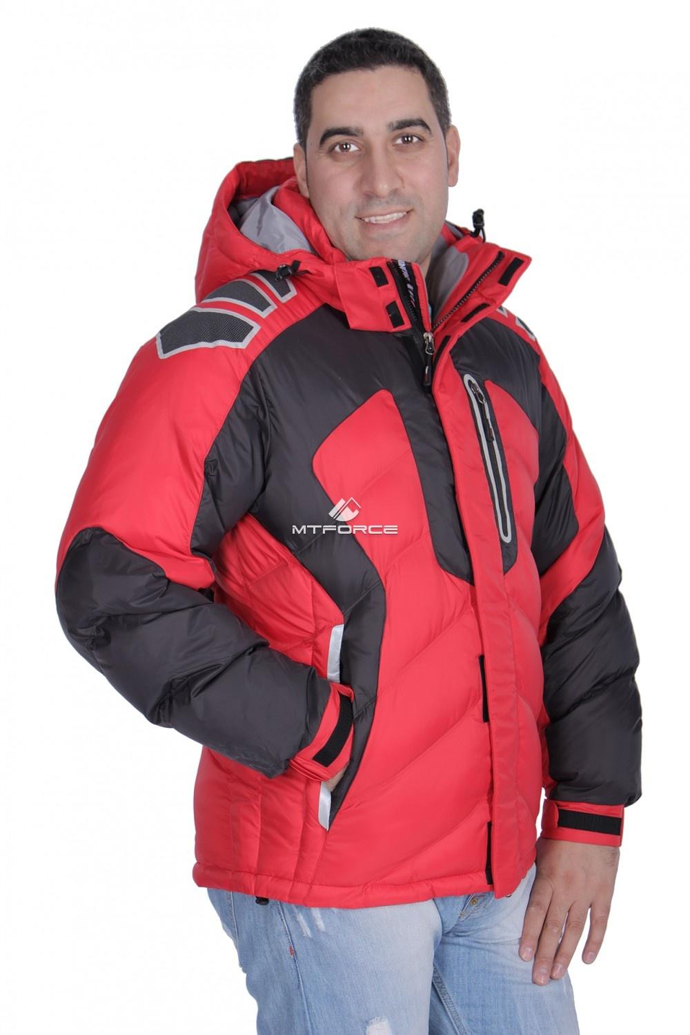 Купить оптом Куртка зимняя мужская красного цвета 9439Kr в Воронеже