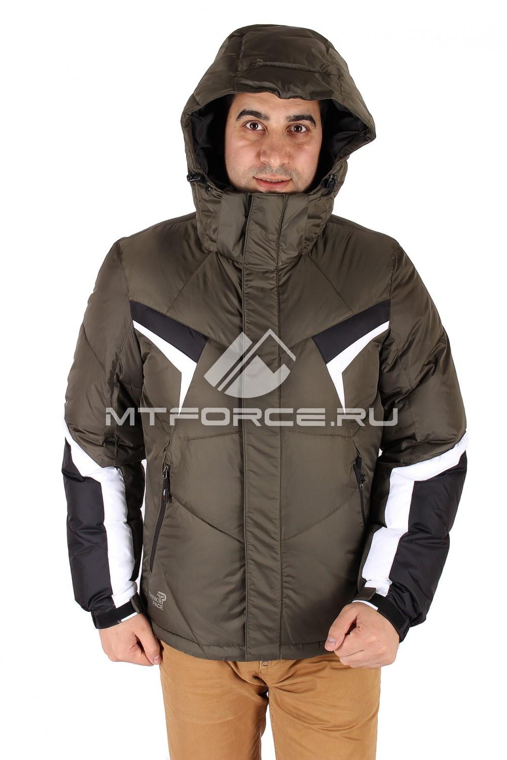 Купить                                  оптом Куртка зимняя мужская цвета хаки 9440Kh
