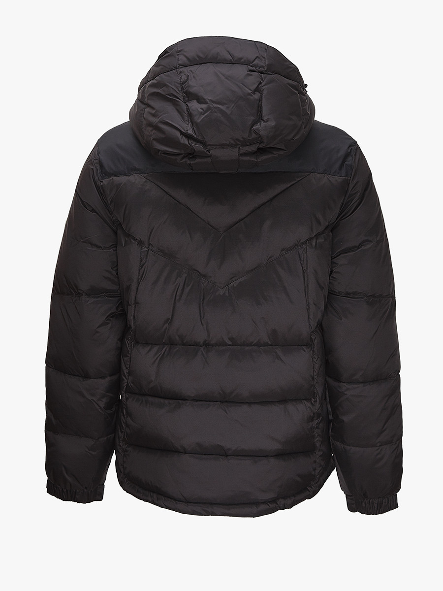 Купить оптом Куртка зимняя мужская черного цвета 9449Ch в Воронеже