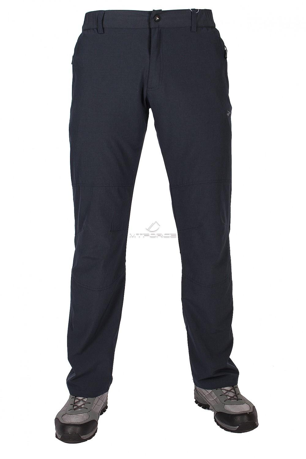 Купить оптом Брюки стильные мягкие спортивные  темно-синего цвета 9605TS в Новосибирске